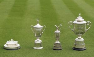 Major Championship Trophies